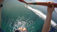 Parasailing video