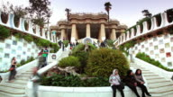 Parc Guell, Barcelona, Spain video