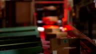 Parcel Scanner Station In Distribution Center video