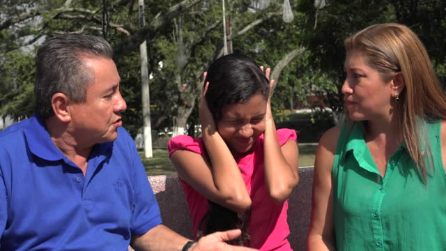 Parents Arguing in Front of Daughter video