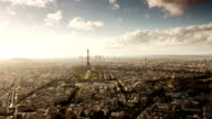 Paris Cityscape From Montparnasse Tower video