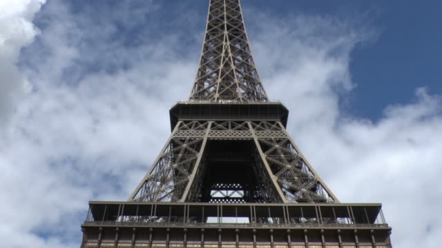 Paris Eiffel Tower In The Summer Time video
