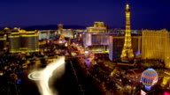 Paris Eiffel Tower, Las Vegas Strip, USA video