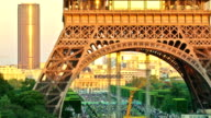Paris Eiffel Tower Pan video