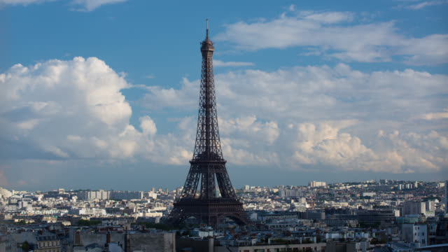 TIME LAPSE: Paris Eiffel Tower video