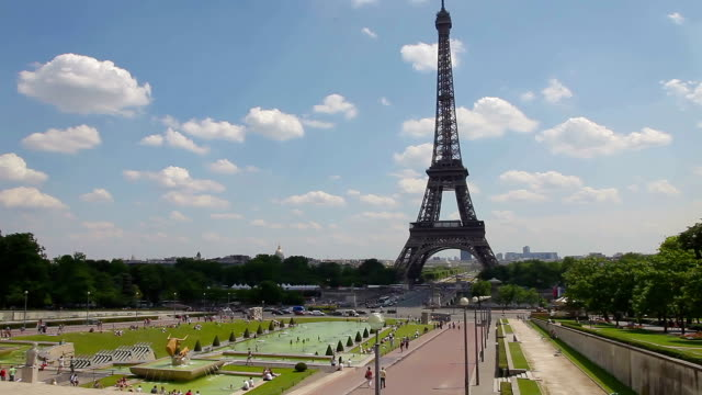 Paris Eiffel Tower video
