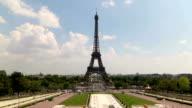 Paris Eiffel Tower Zoom video