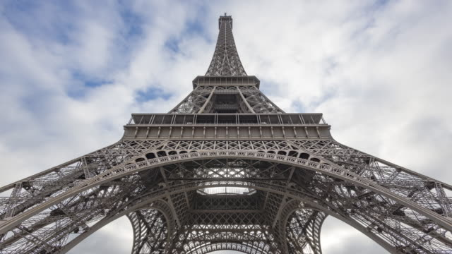 Paris, France - Timelapse  - Under the Eiffel Tower video