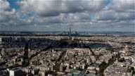 Paris from the Montparnasse Tower video