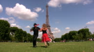 Paris fun dance video