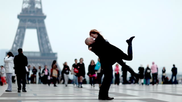 Paris Romance Couple video