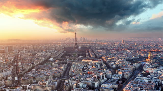 Paris - Time lapse, France video