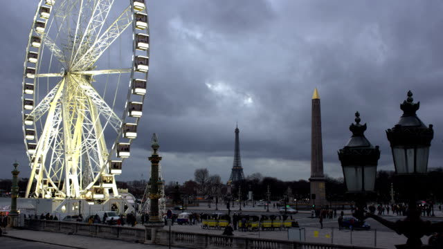Paris time lapse video