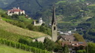Parish Church and Monastery in South Tyrol PAN TL video