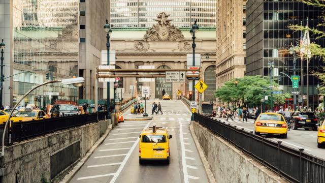 Park Avenue Rush Hour in New York City video