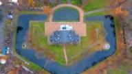 Park from above, Kaliningrad video