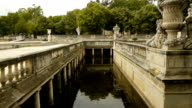 Park of Fountains, Nimes France video