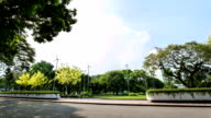 Park with in Time Lapse. video