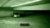 Parking Garage Theft Surveillance video