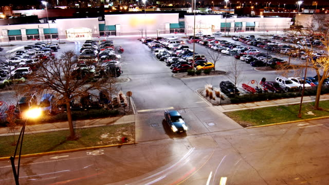 Parking Lot Black Friday Wide video
