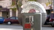 Parking Meter Closeup video