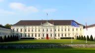 Parliament Building Bellevue: Home of the German President in Berlin video