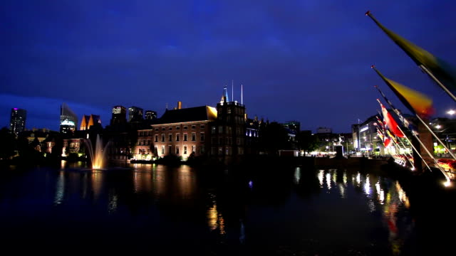 Parliament buildings in The Hague video