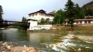 paro rinpung dzong, bhutan video