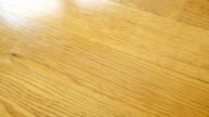 Parquet. Natural wooden texture. video