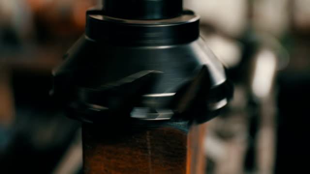 Part of machine working video
