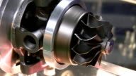 Part of mechanism spinning slowly video