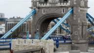 A part of the blue Tower Bridge video