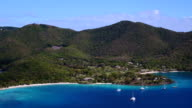 3 part pan left video of North Shore, St.John, part 2 video