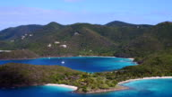 3 part pan right video of North Shore, St.John, part 1 video
