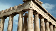 Parthenon - ancient temple in Athens, Greece video