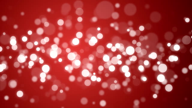 Particle Background - Red video
