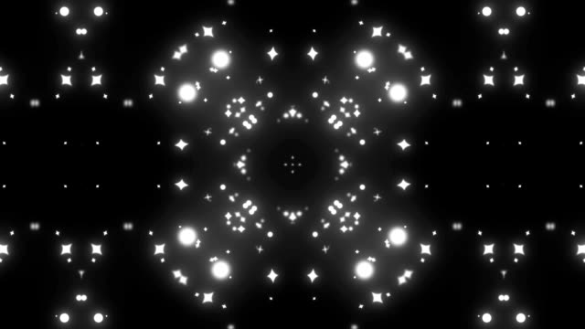 particle kaleidoscope video