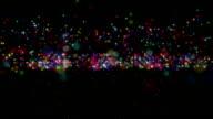 particle rain color video