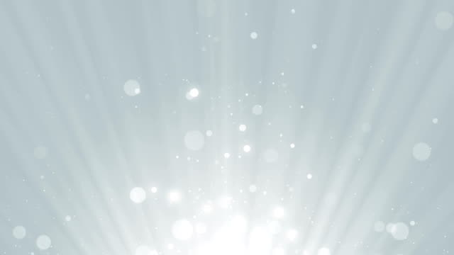 Particles business white bright glitter bokeh dust abstract background loop video