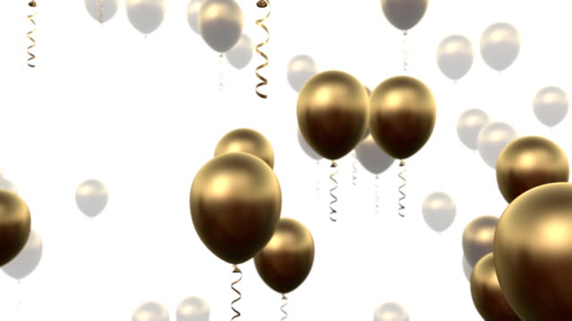 Party ballons video