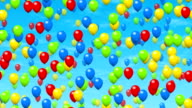 Party balloons video
