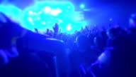 Party Crowd People Live Rave Concert EDM Rock video