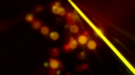 Party Laser Lights Orange Loopable Background video