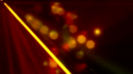 Party Laser Rays Orange Loopable Background video