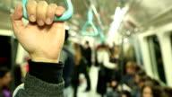 passenger holding hand grab video