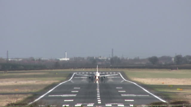 Passenger Jet Take Off video