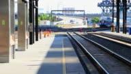 Passenger Train Leaving video