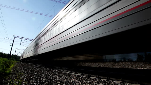 Passenger train, loop video