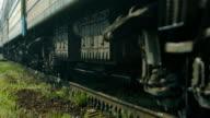 Passenger train. video