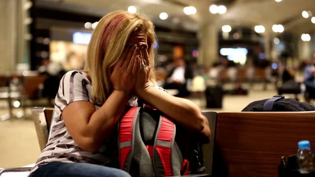 passenger waiting in airport video